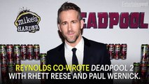 'Deadpool 2' Ryan Reynolds Says Fox Made Him Cut A Disney Joke | News Flash | Entertainment Weekly