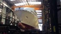 Il gruppo Onorato vara la più grande nave ro-ro del Mediterraneo