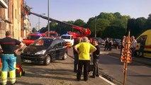 Tournai: on évacue des habitants au boulevard des Combattants en raison d'une fuite de gaz