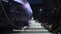 """Chanel jette l'ancre au Grand Palais pour son défilé """"croisière"""""""
