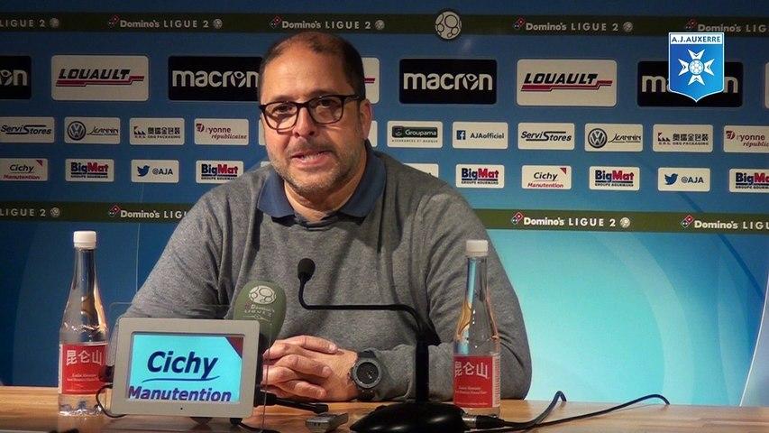 Réactions de Pablo Correa et Quentin Westberg après AJA - AC Ajaccio