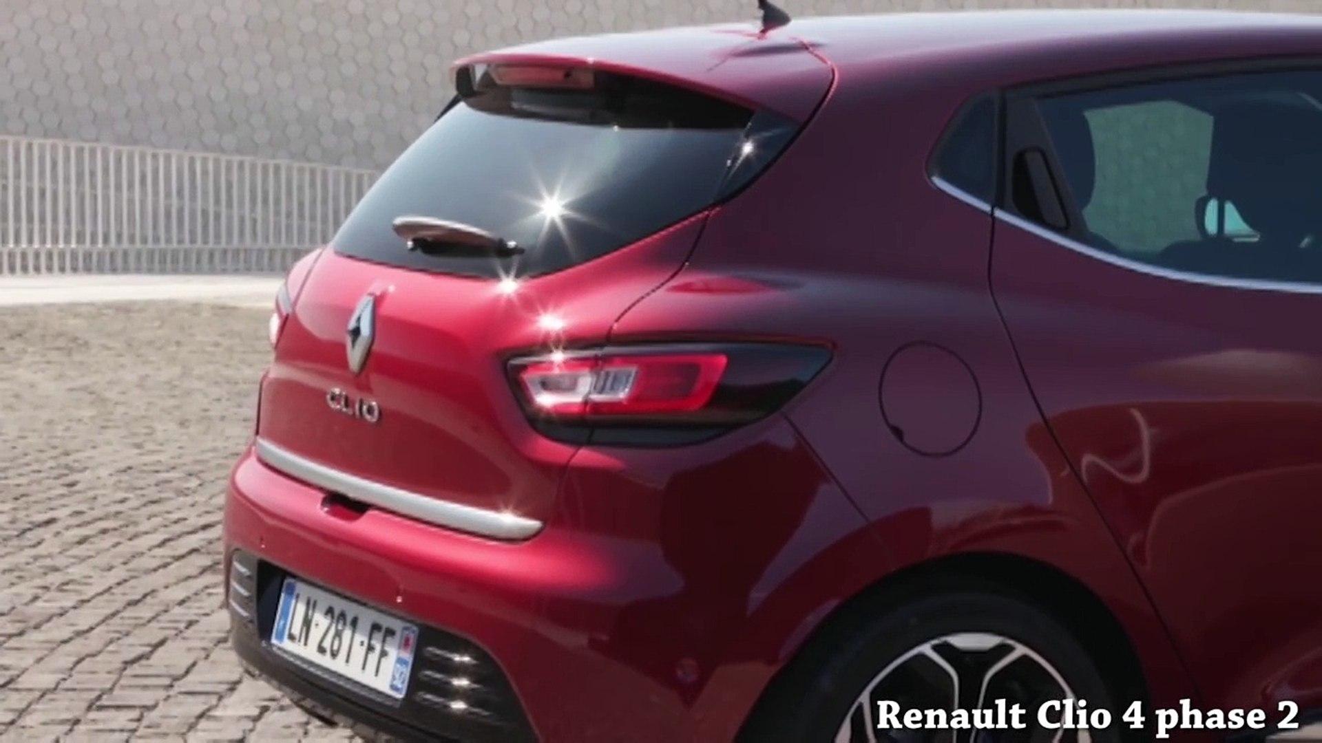 Renault Clio 4 Phase 1 Vs Renault Clio 4 Phase 2