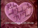 I Love Lucy 1951 S02E30 Ricky And Fred Are Tv Fans
