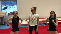 Kan Kathrine lære oss Rytmisk Gymnastikk på en 1/2 time? Kommenter hva dere syns