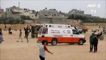 Decenas de palestinos heridos por ejército israelí en Gaza