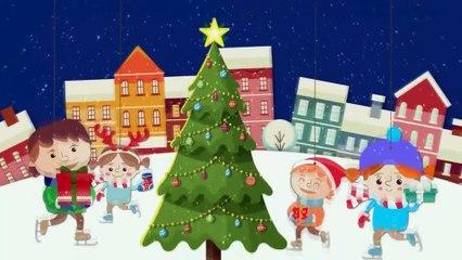Детские песни - Все Новые серии подряд - Новогодний Сборник мультфильмов