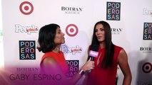 Gaby Espino en entrevista durante las 25 mujeres más poderosas