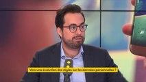 """Les grandes plates-formes internationales ne sont """"pas au niveau"""" du nouveau cadre européen en vigueur le 25 mai 2018, explique Mounir Mahjoubi qui demande à """"chaque Français d'être attentif vis-à-vis de ses données"""""""