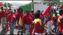 The Public Workers' Union says it will become more aggressive in its advocacy to eliminate the abuses of contract work in Grenada. One day after unions march