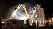 Démolition ancienne école des Beaux-Arts de Cherbourg
