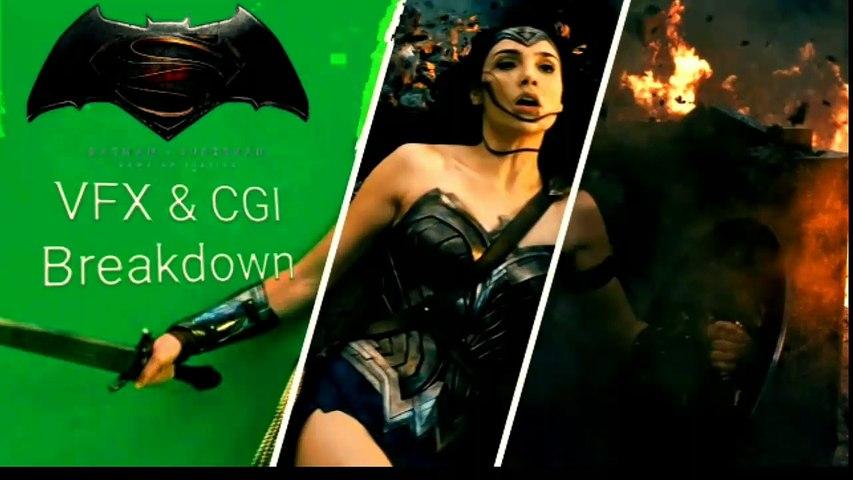 Batman vs Superman | Before and after VFX|