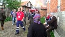 Yangına müdahaleye giden itfaiye ekibi kaza yaptı: 1 ölü 1 yaralı