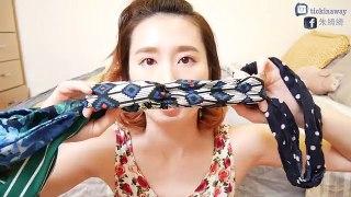 夏日髮帶教學//髮帶收藏 ::Summer Headband CollectionXTutorial