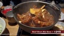 GALBI JJIM: Korean Steamed Beef in Gangnam (KWOW #131)