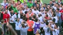 Altay 1. Lig'de - Ayağı kırık futbolcu, sedye ile sahada kutlama yaptı - İZMİR