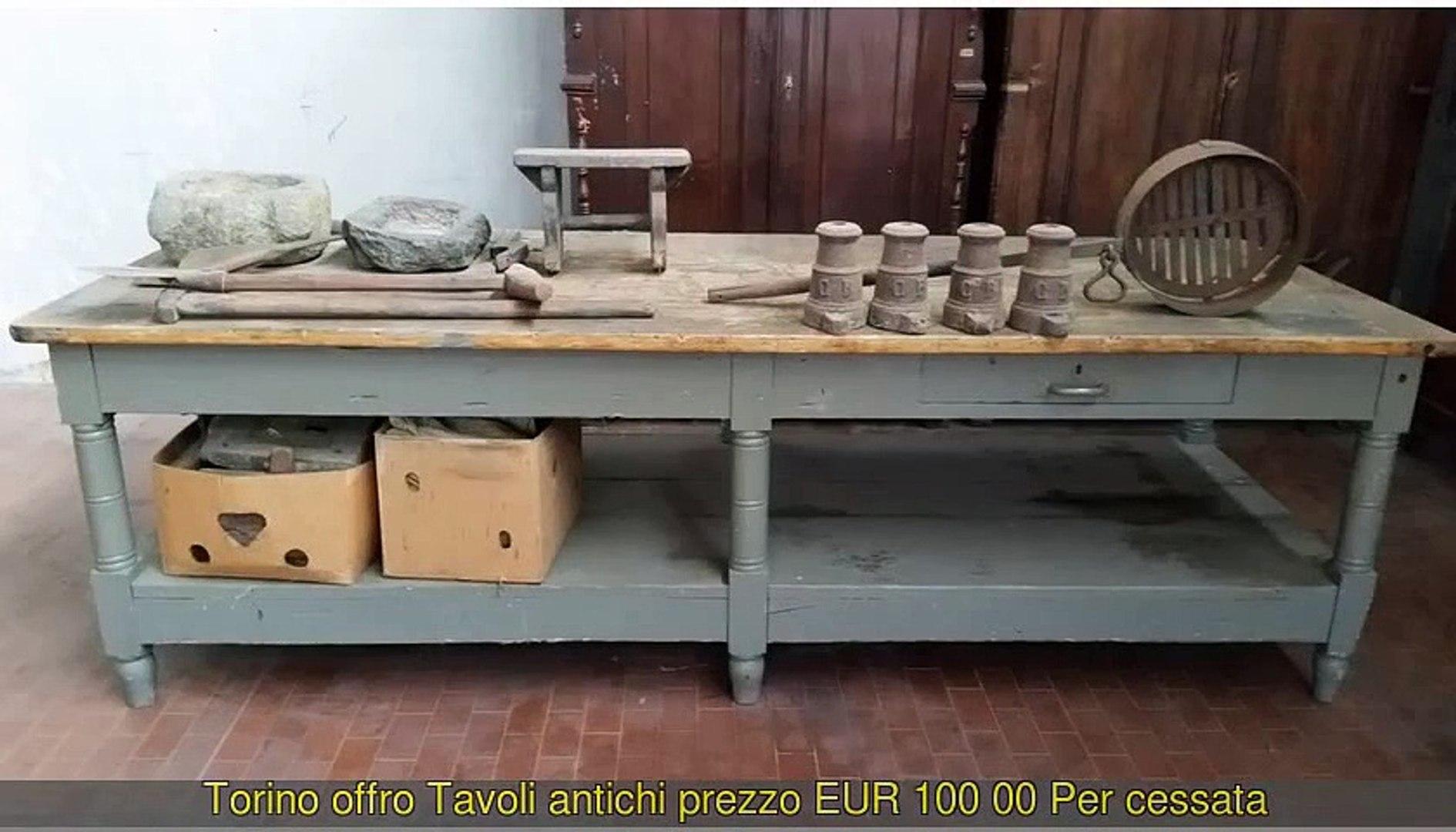 Tavoli antichi - Video Dailymotion