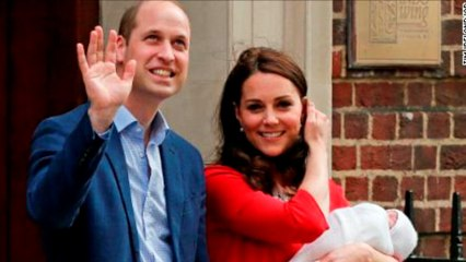 Prince William and Kate had to list their jobs on Prince Louis' birth certificate