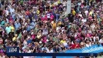 Giro d'Italia 2018 : l'italien Elia Viviani remporte au sprint la 2ème étape à Tel-Aviv