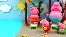 Fun On The Beach. Peppa Pig Toys. Stop Motion Animation. New Episodes 2018 - #PeppaPig - @PeppaPig - Animation