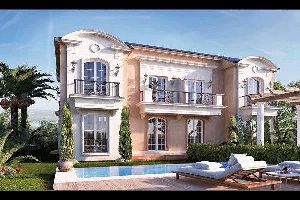 Twin house 420 m with price in layan resale