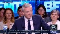 """""""Ses propos sont choquants (…) Il aurait pu s'abstenir."""" Bruno Le Maire réagit aux propos de Donald Trump sur le Bataclan"""