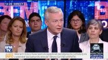 """Air France: Bruno Le Maire épingle les pilotes qui demandent des salaires """"aussi élevés"""""""