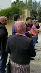 Centre de vote Carthage ( vidéo Karim Ahres )