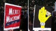 """Le meilleur et le pire des affiches de la """"Fête à Macron"""""""