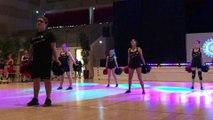 250 cheerleaders enflamment l'Ogive à Chevigny-Saint-Sauveur