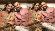 Sonam Kapoor's pre-wedding ceremonies begin, Watch mehendi ceremony pics   Boldsky