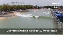 Surf: une compétition sur une vague artificielle