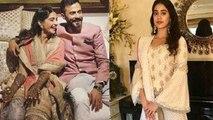 Sonam wedding: Jhanvi Kapoor को देख आई Sridevi की याद | वनइंडिया हिंदी