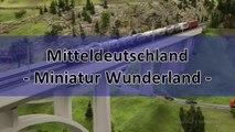 Miniatur Wunderland Modelleisenbahn Abschnitt Mitteldeutschland und Harz - Ein Video von Pennula zum Thema Modellbau und Spielzeug-Eisenbahn