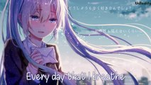 「Nightcore」→  Love Letter (Lyrics)