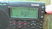 Updated AM Medium Wave Radio Band Scan In Clacton Essex in 2018