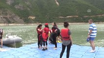 """Borçka Baraj Gölü'nde """"Su Sporları Şenliği"""""""