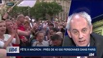 Fête à Macron : près de 40 000 personnes dans Paris