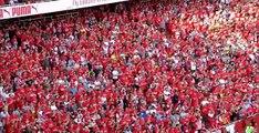 Les Fans d'Arsenal rendent hommage à Arsène Wenger / Premier League.