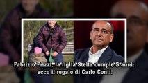 Fabrizio Frizzi, la figlia Stella compie 5 anni: ecco il regalo di Carlo Conti.