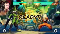 NEXT LEVEL DBZ GAMING!!  Dragon Ball Fighter Z GAMEPLAY REVEAL REACTION {E3}