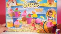 Kinetic Sand Ice Cream & Bakery PlaySet Craze Magic Sand Knet-Sand Squeezable Sand