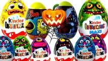 Halloween Maxi Kinder Surprise eggs KINDER GIANT SURPRISE EGG Mickey Mouse Surprise Toys