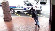 Voici comment stoppé un homme armé en toute beauté !