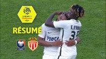 SM Caen - AS Monaco (1-2)  - Résumé - (SMC-ASM) / 2017-18