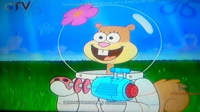 spongebob squarepants - spongebob and patrick goes to sandy home 2