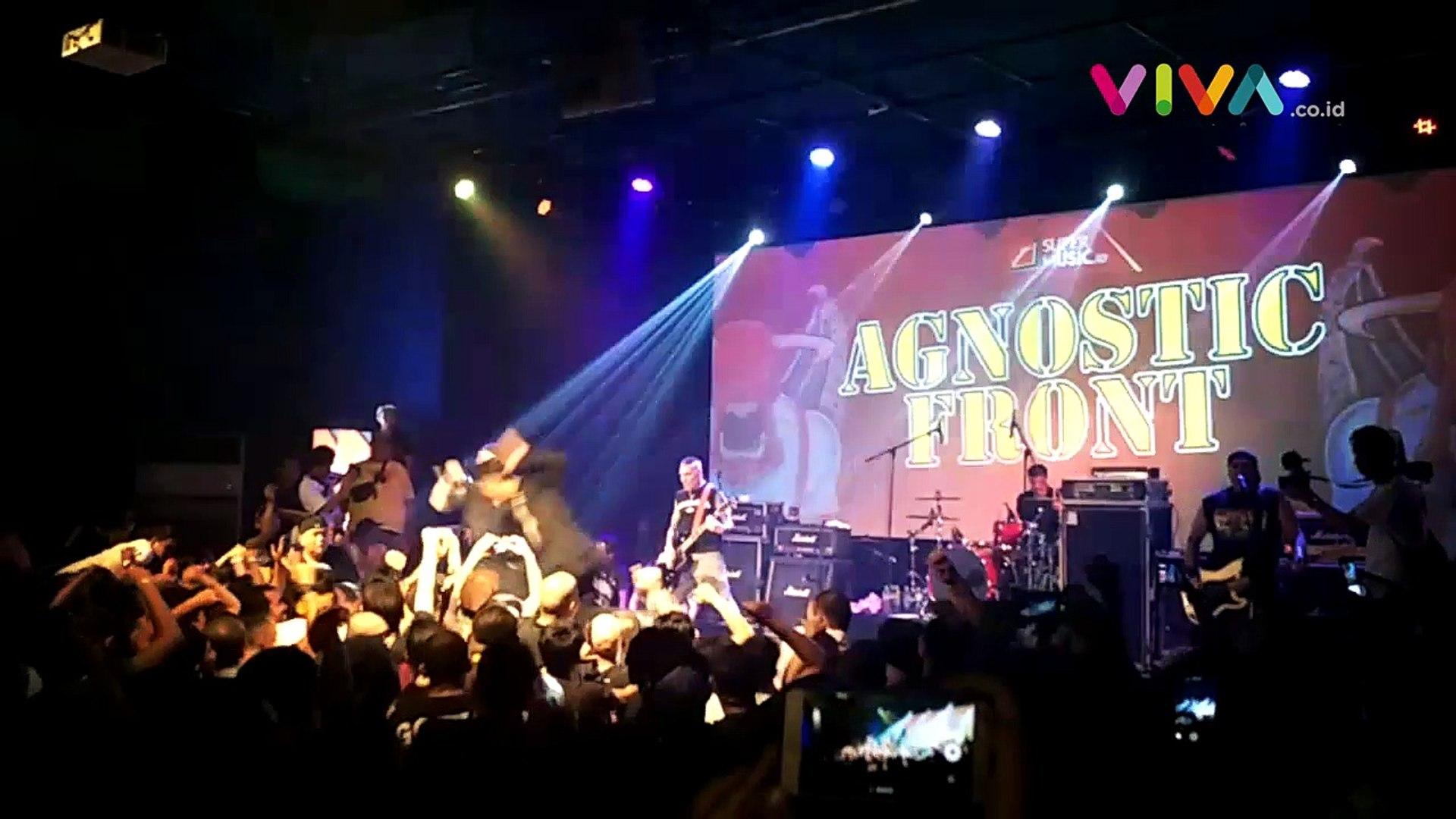 Agnostic Front 'Ledakkan' Scene Hardcore Punk Jakarta