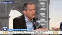 """""""Visiblement c'est mal barré"""" commente Pascal Pavageau avant les négociations entre Edouard Philippe et les syndicats de la SNCF à Matignon"""