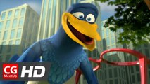 """CGI Animated Short Film """"Peck Pocketed"""" by Kevin Herron 