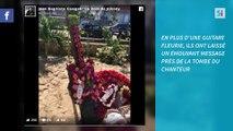 Jean-Baptiste Guégan rend  hommage à Johnny Hallyday à Saint-Barth