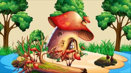 Family of Squirrel's Rain Rain Go Avay   Educational Songs for Children   Doo Doo Kids Songs